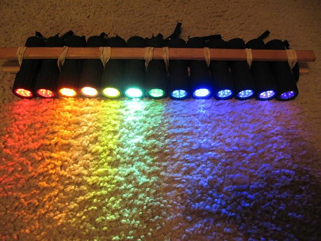 Rainbow Flashlights
