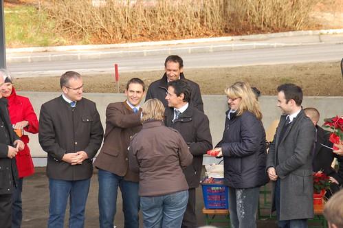 Wohnungsübergabe in Poggersdorf (20.11.2009)