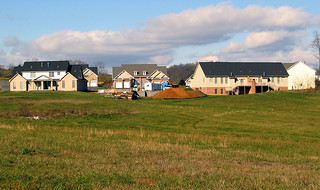 New Duplex subdivision outside Harrisonburg