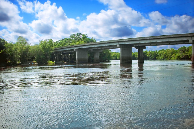 Highways 19 & 98 Bridge over the Suwannee River, Fanning Springs