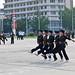 Military Drills - Wonsan by Tom Peddle