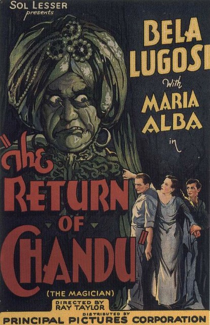 Return Of Chandu, The (Poster)