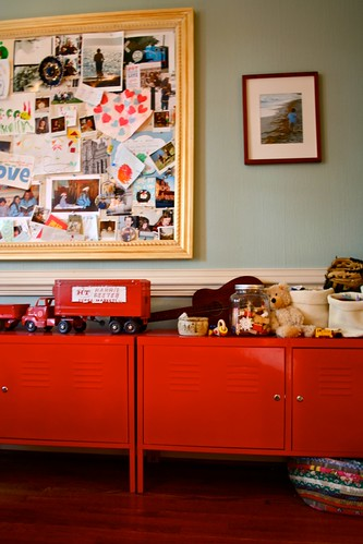 a real life, real time, not tidy-ed shot of teddy's cupboards :)