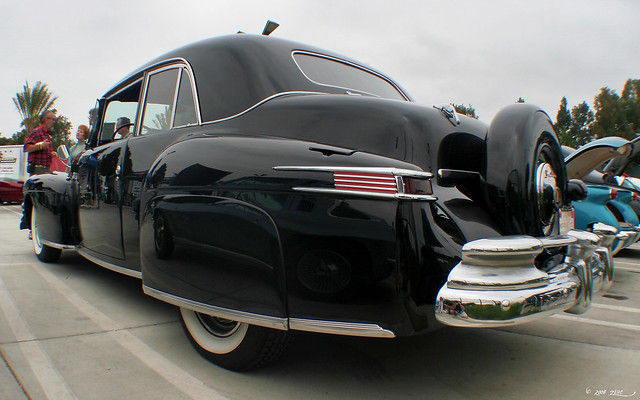 1947 Lincoln Continental Club Coupe - black - rvrl
