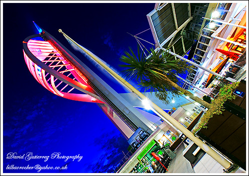 Portsmouth - Travel at Night ; Spinnaker Tower