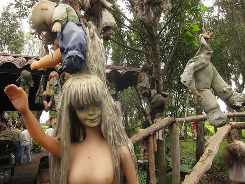 Island of the dolls. Inspired.