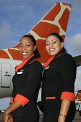 Zambezi Airlines Crew & Tail