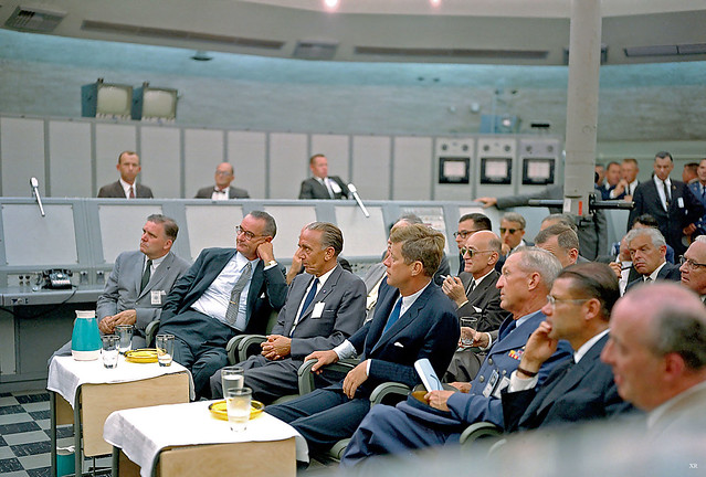 1962 ... JFK at Cape Canaveral