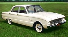 automobile(1.0), automotive exterior(1.0), ford falcon (north america)(1.0), family car(1.0), vehicle(1.0), full-size car(1.0), compact car(1.0), ford(1.0), antique car(1.0), sedan(1.0), ford falcon (australian version)(1.0), classic car(1.0), land vehicle(1.0),
