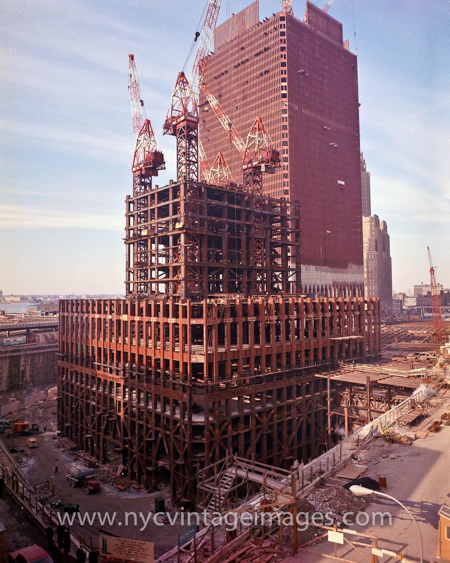 World Trade Center Construction : World trade center construction skyscrapercity