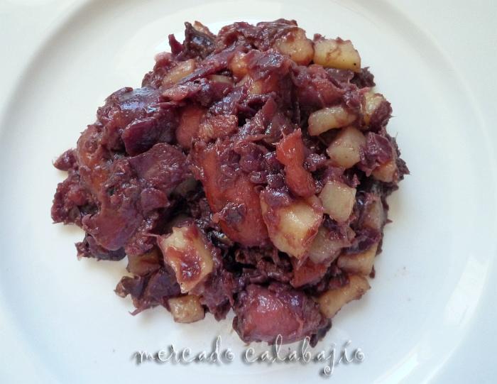 Receta de lombarda con manzana o lombarda a la madrilena for Cocinar lombarda