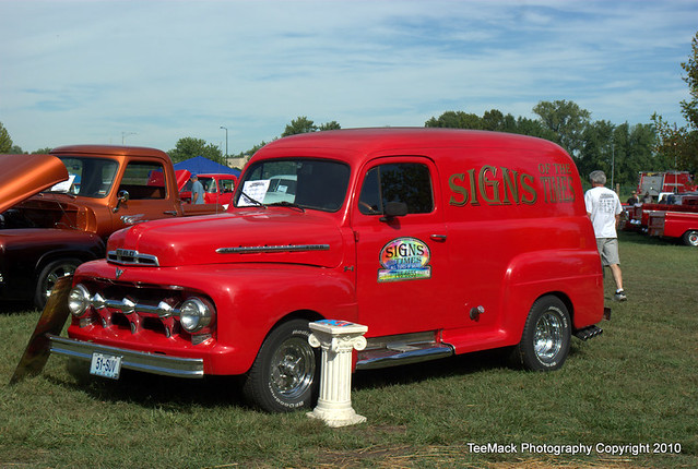 1951 ford fl panel truck flickr photo sharing