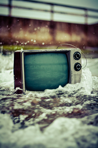 Does Television Exposure Benefit Struggling Industries?