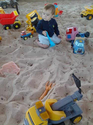 ajax in the giant magical sandbox