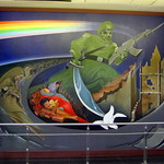 Denver : Denver International Airport - The Children of the World Dream of Peace