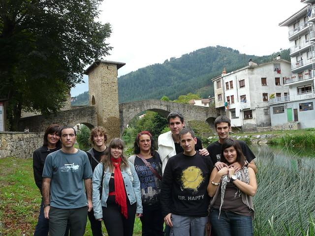 Amigos en Balmaseda (Foto de 2010)