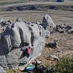 James on a boulder problem...