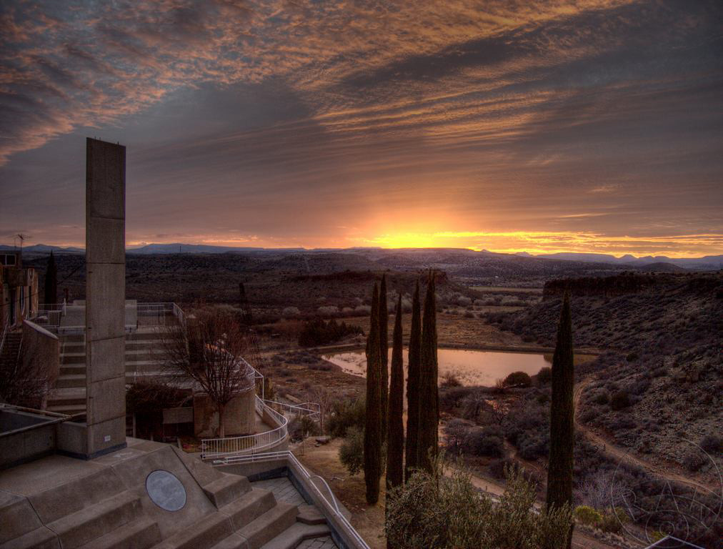 Arcosanti Sunrise