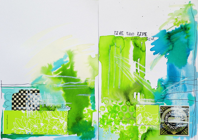 art journal :: Live the LIFE you've imagined.