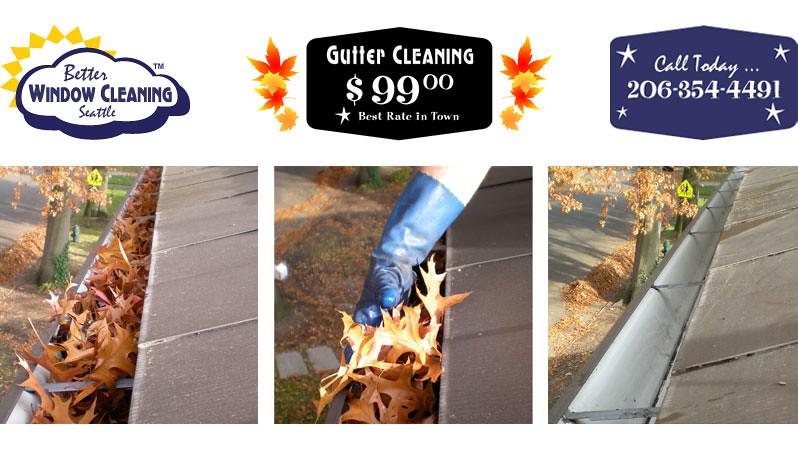 gutter cleaning tricks
