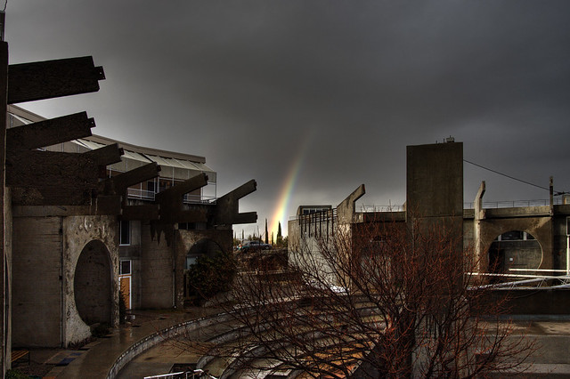 Arcosanti Rainbow