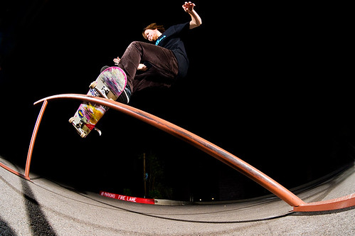 John Motta - Frontside Smith Grind