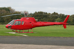 G-OMCC - 1985 build Aerospatiale AS350B Squirrel, visiting Barton
