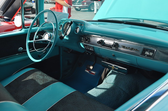 interior of a 39 57 chevy belair flickr photo sharing. Black Bedroom Furniture Sets. Home Design Ideas