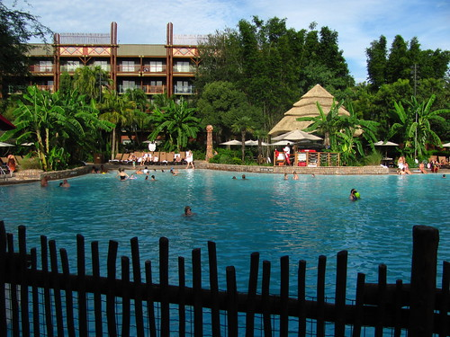 Uzima Pool at Jambo House at Animal Kingdom Lodge