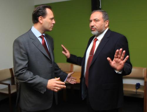 Συνάντηση ΥΠΕΞ κ. Δ. Δρούτσα με ΥΠΕΞ Ισραήλ κ. Avigdor Lieberman
