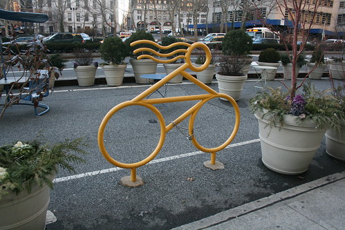 Fancy Bicycle Rack