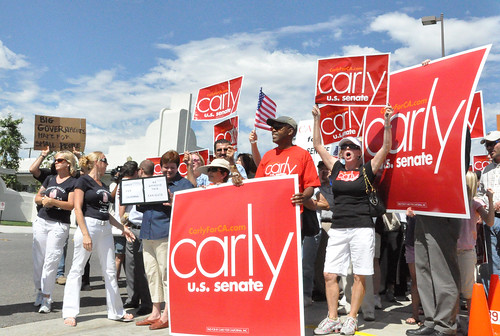 Carly Fiorina supporters