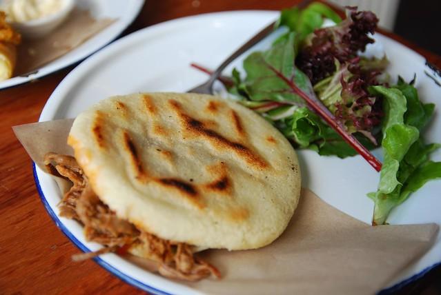 Shredded Beef Arepa - Cruzao Arepa Bar AUD9