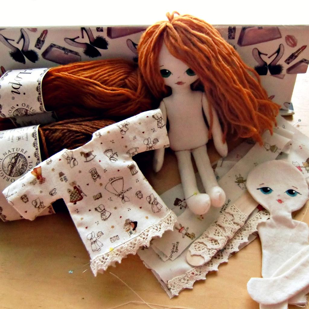 Как делать своими руками куклы