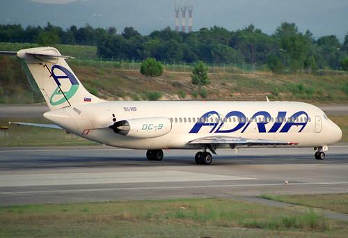Adria DC-9-32 S5-ABF GRO 16/08/1993