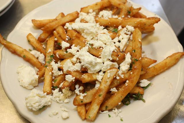 Candlelite Chicago Pizza restaurant | Garlic Feta Cheese Fries