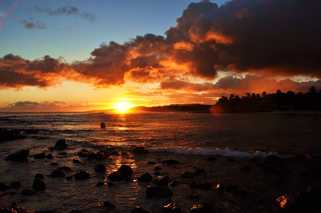 Kauai's sunset