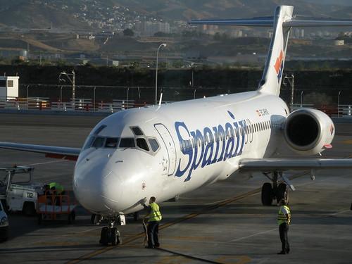 Un avion de Spanair