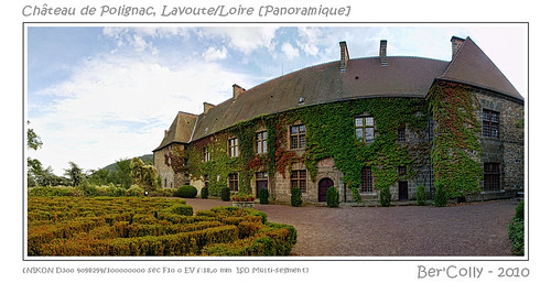 sky panorama france castle clouds garden google flickr jardin ciel chateau nuages auvergne panoramique hauteloire lavoutepolignac bercolly