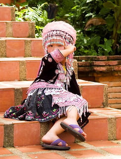 Child in Chiang Mai