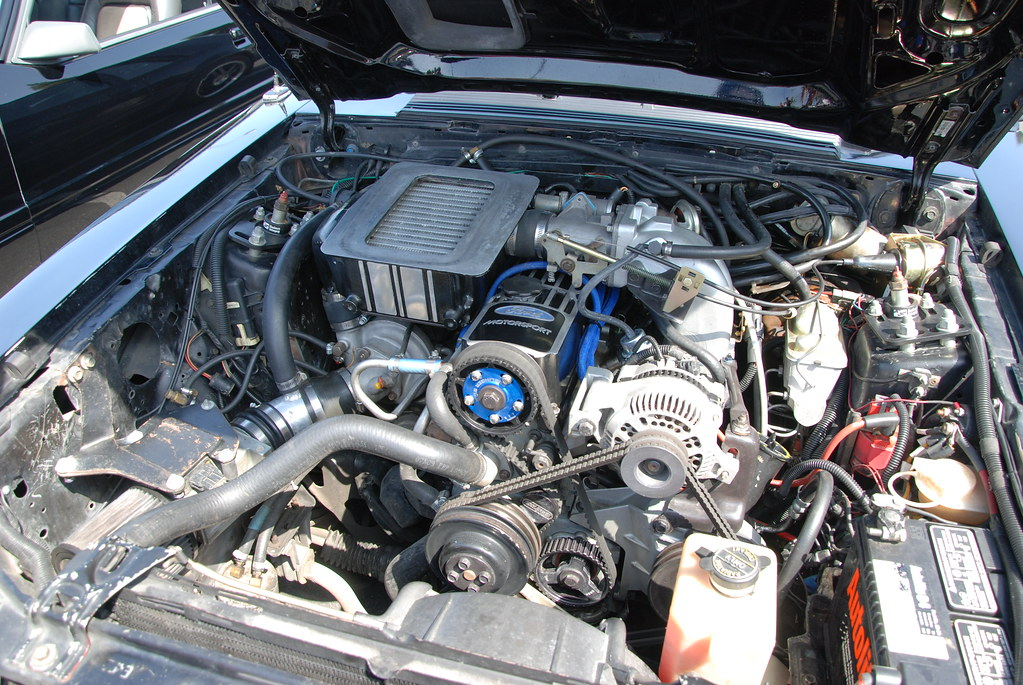 FORD MUSTANG SVO ENGINE - a photo on Flickriver