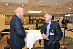 osec Forum Russland 2010, Erich Gysling und Marc Buser