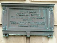 Photo of William Smith bronze plaque