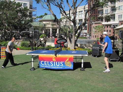 Celsius and Mario Lopez Celebrate His Birthday