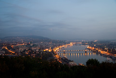 Budapest in the morning