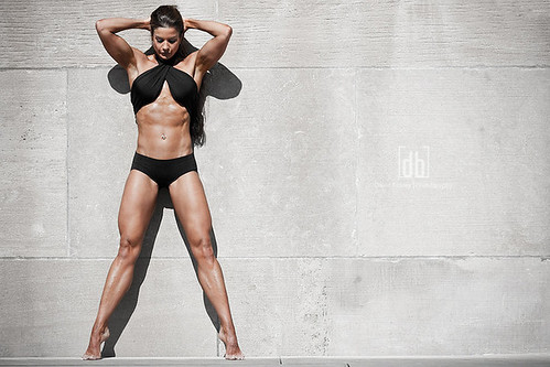 Fitness Model Diana Chaloux photo by David Bickley