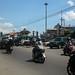 Jalan utama di Kadipiro padat lalu lintas.  : Congestion in Kadipiro's main street. Photo by Shella
