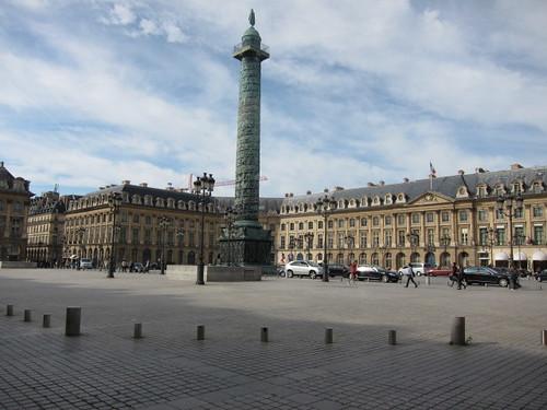 Plaza Vendôme, París