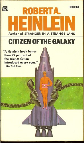 Robert A. Heinlein - Citizen of the Galaxy - cover artist Davis Meltzer