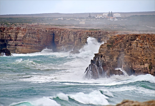 Sagres cliffs by Alida's Photos